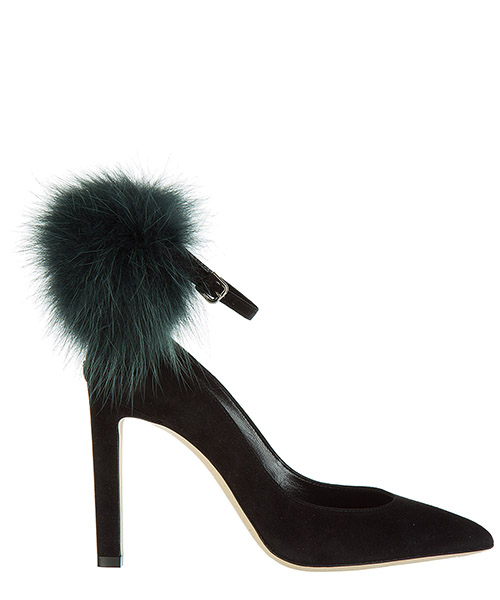 Насос Jimmy Choo south 100 south black / bottle green mix
