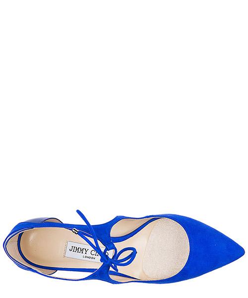 Decolletes decoltè scarpe donna con tacco camoscio vanessa secondary image