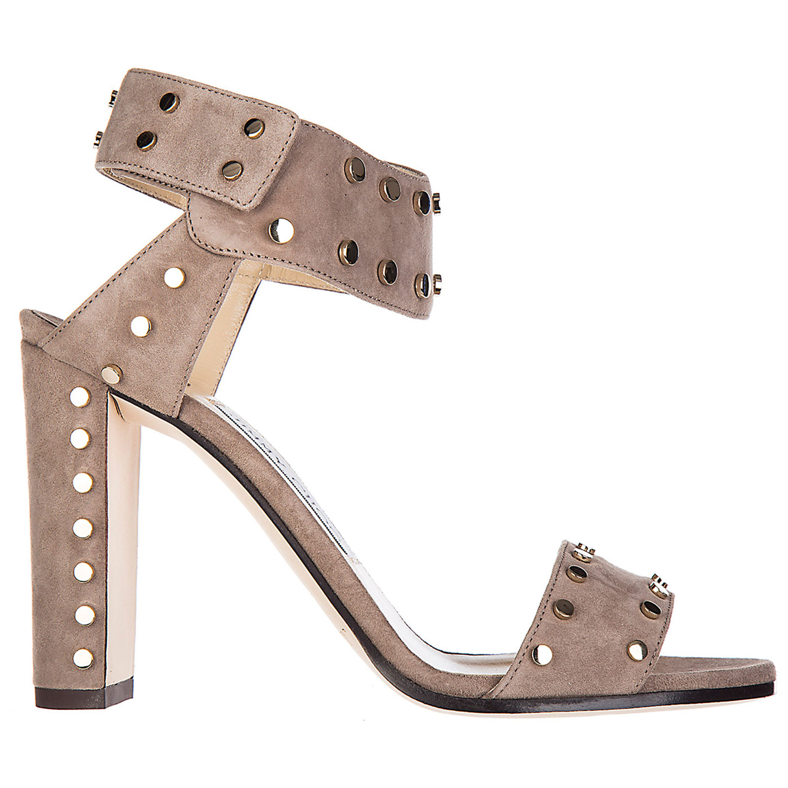 Women's suede heel sandals veto