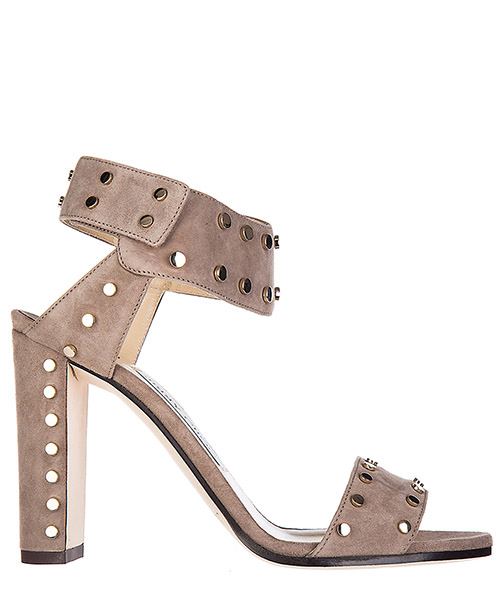 Sandalias Jimmy Choo Veto 100 VETO 100 light mocha - gold