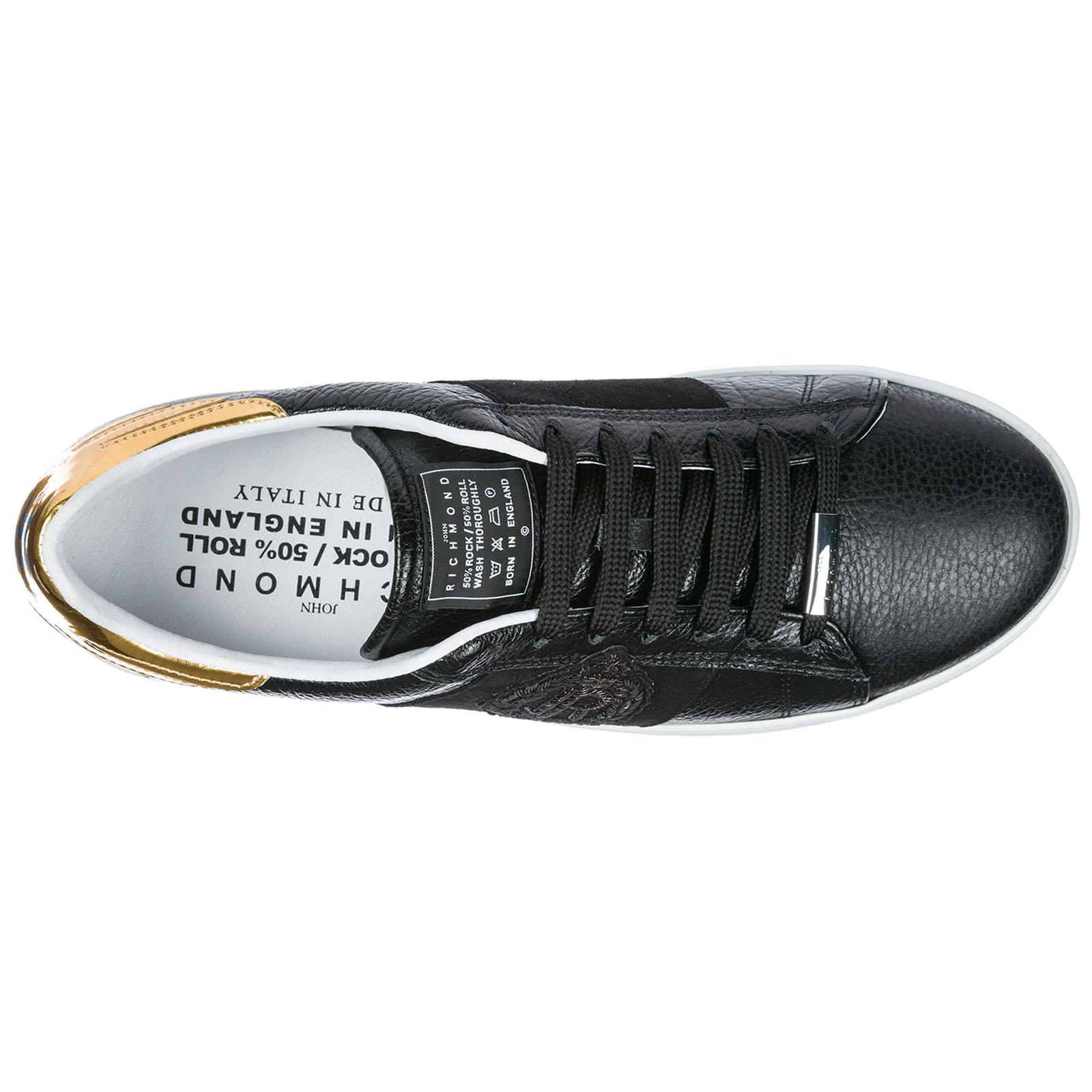 buy online d312b 0c50d Scarpe sneakers uomo in pelle panama