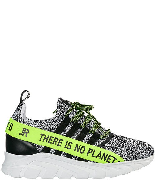 Sneakers John Richmond No Planet B 7004 bianco