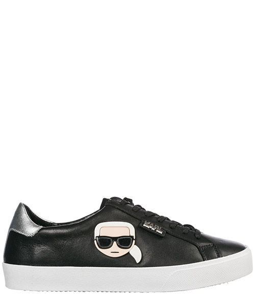 Women's shoes leather trainers sneakers ikonik