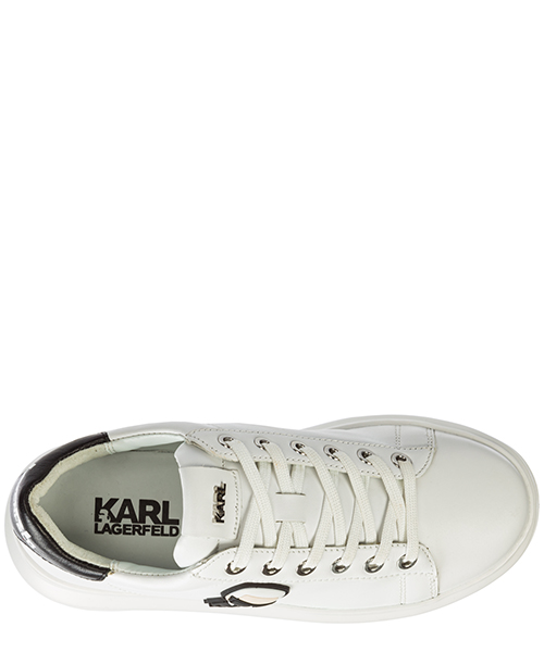 Chaussures baskets sneakers femme en cuir k/ikonik kapri secondary image