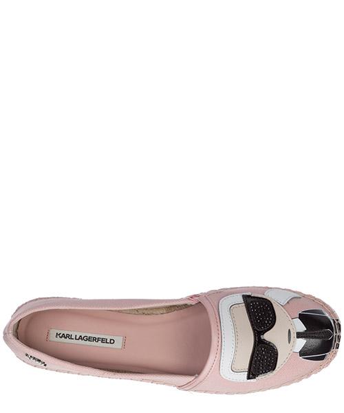 Women's cotton espadrilles slip on shoes k/ikonik secondary image
