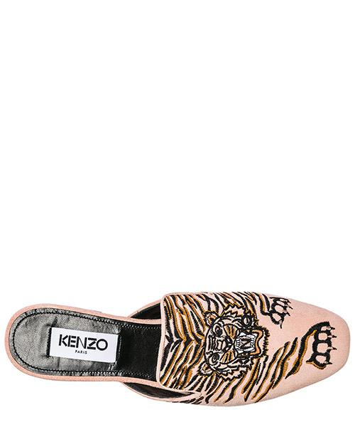 Mujer zapatillas sandalias en piel secondary image