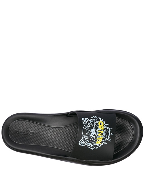 Women's rubber slippers sandals tiger secondary image