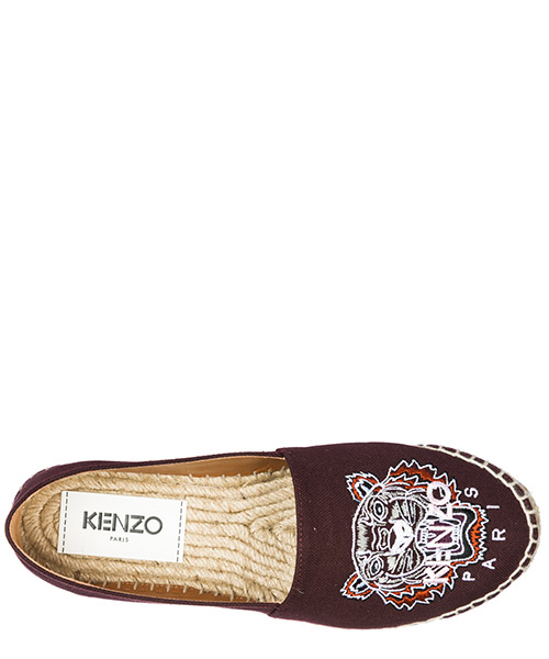 Women's cotton espadrilles slip on shoes  tiger secondary image