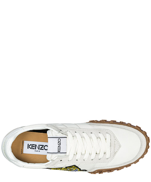 Scarpe sneakers donna in pelle kenzo move secondary image