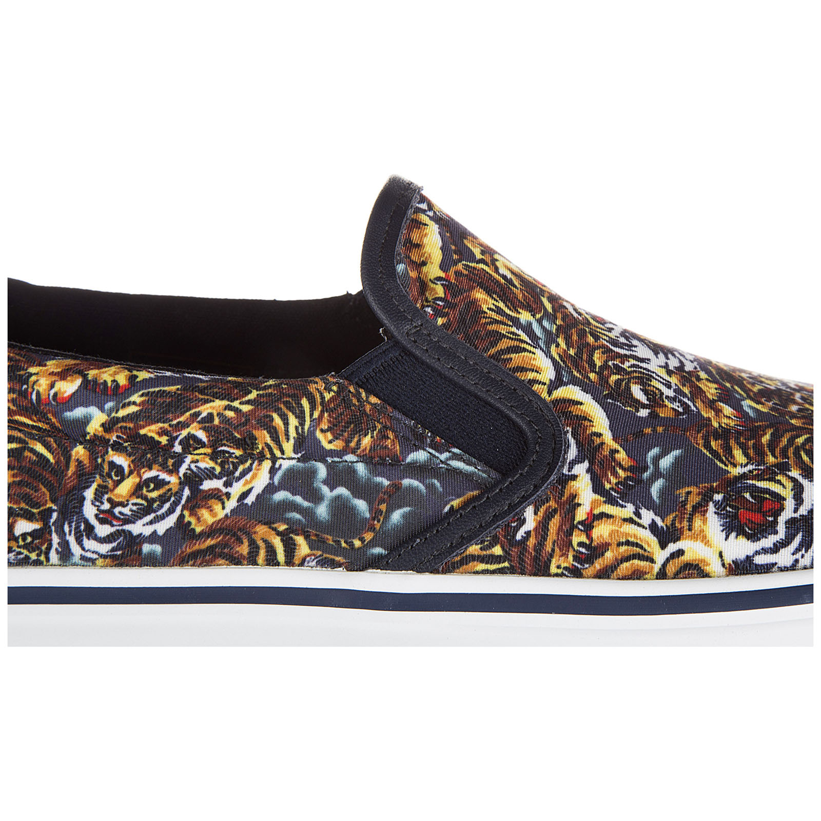 Slip on uomo sneakers tiger