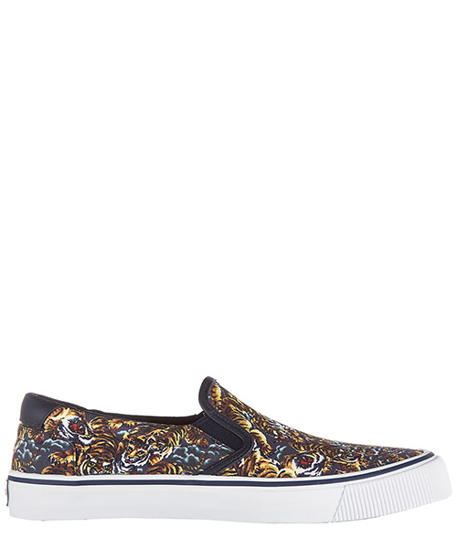 Slip on homme sneakers tiger