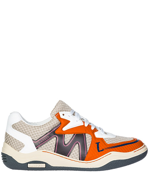 Sneaker Lanvin diving fm-skddsi-custp18 beige/orange