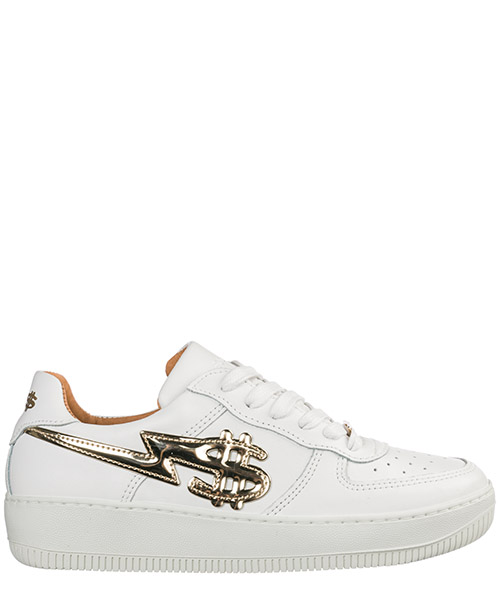 Women's shoes leather trainers sneakers