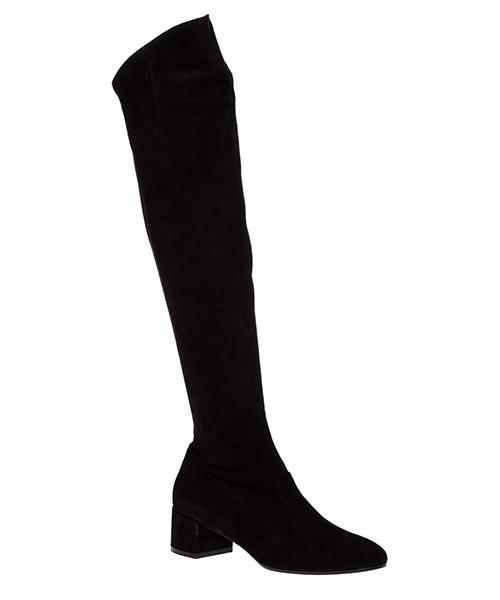 Damen wildleder mit absatz stiefel boots secondary image