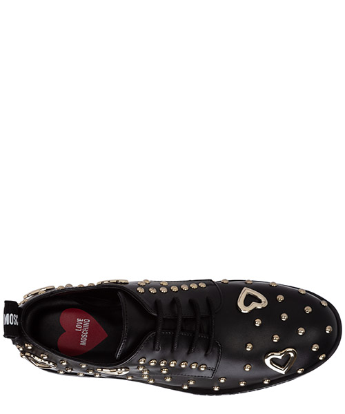 Clásico zapatos de cordones mujer en piel secondary image