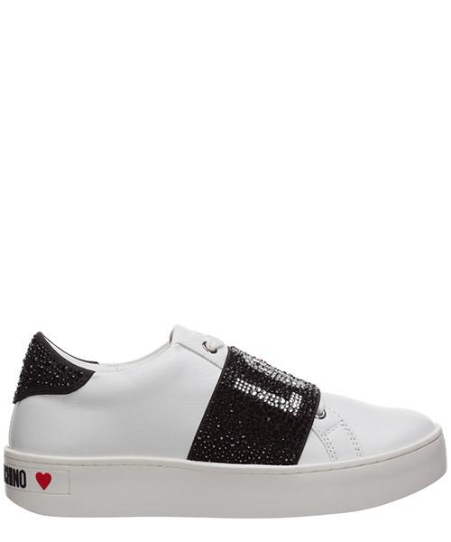 Sneaker Love Moschino cassetta ja15103g1bia0100 bianco