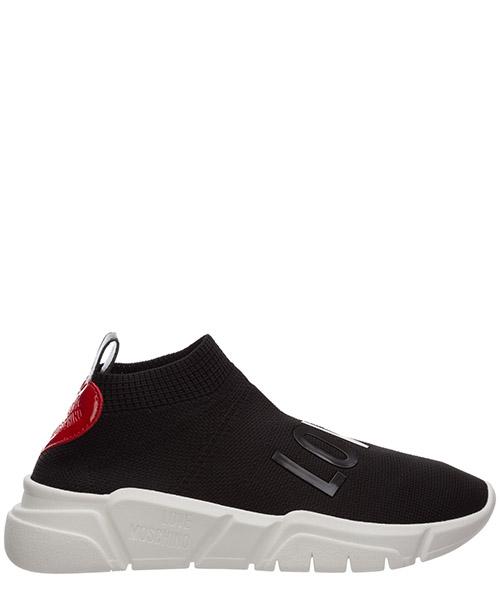 Sneaker Love Moschino running ja15113g1biq0000 nero