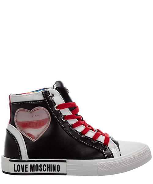 Sneaker high Love Moschino ja15272g1bia100b nero