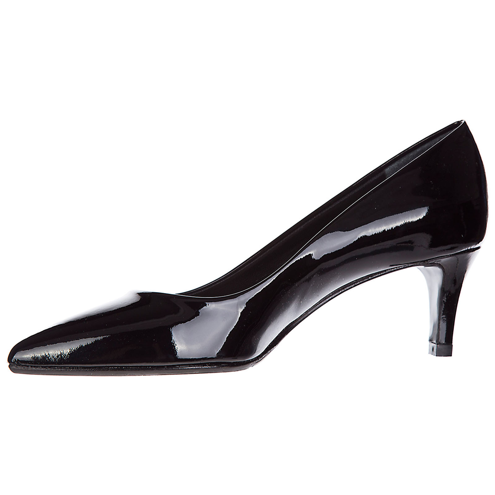 Women's leather pumps court shoes high heel