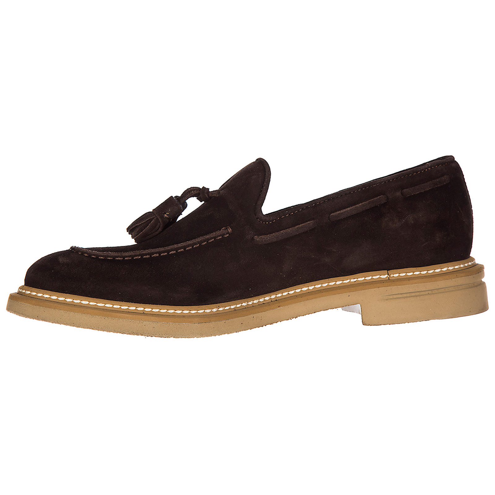 Wildleder mokassins herren slipper