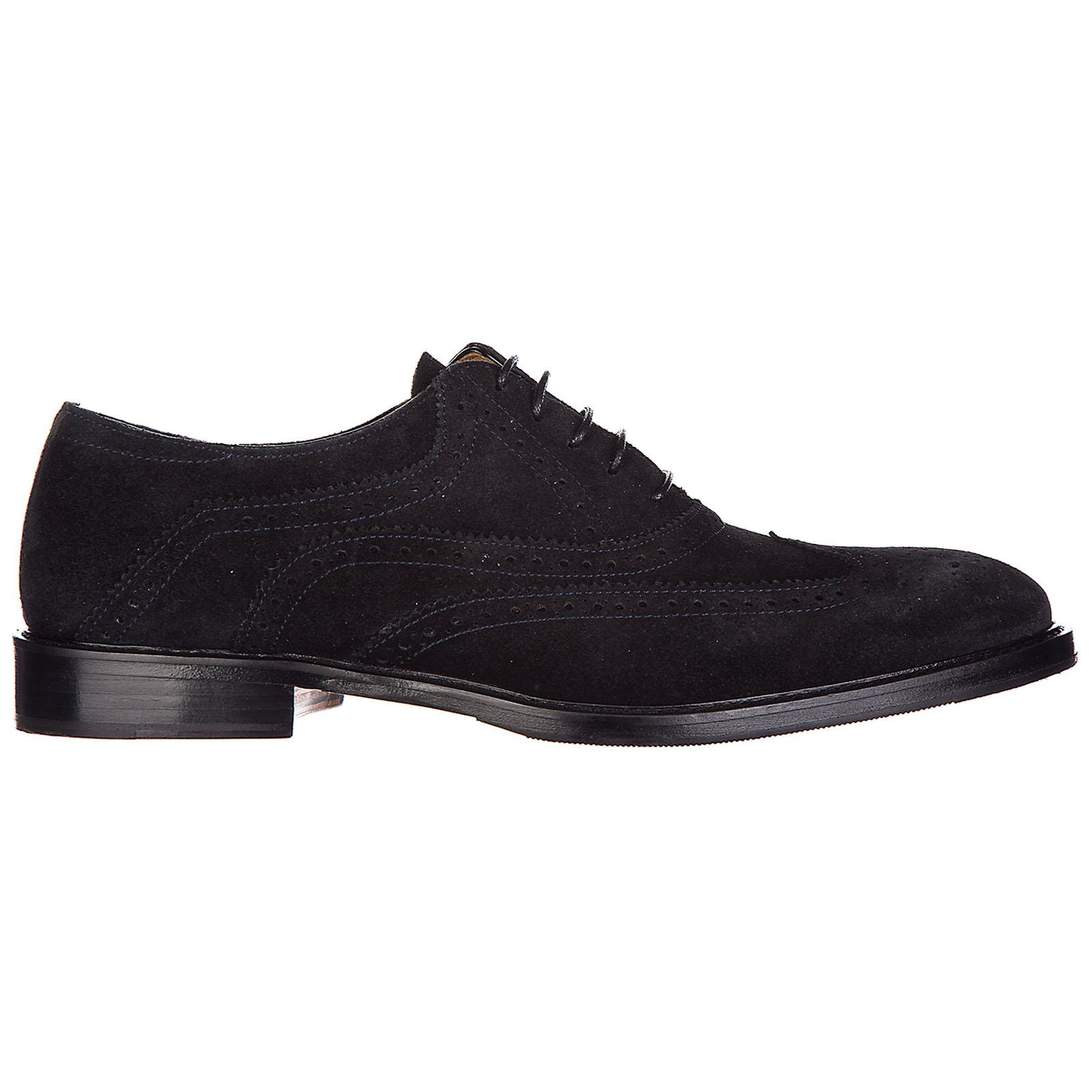 Chaussures à lacets classiques homme en daim brogue wilson