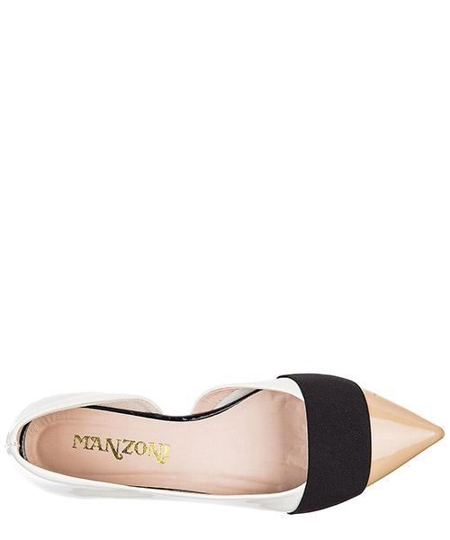 Damen leather ballet flats ballerinas secondary image