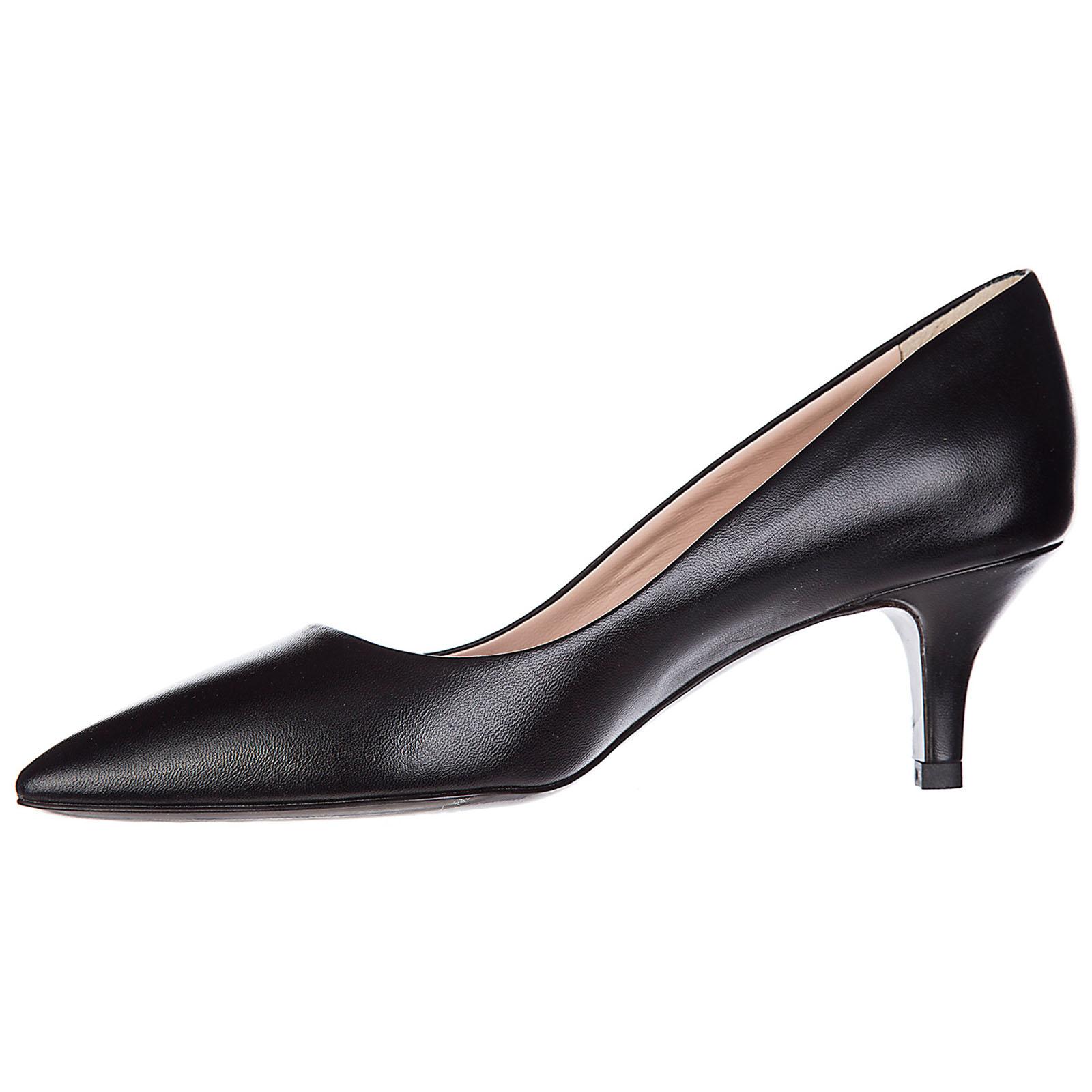 Zapatos de salón escotes mujer en piel