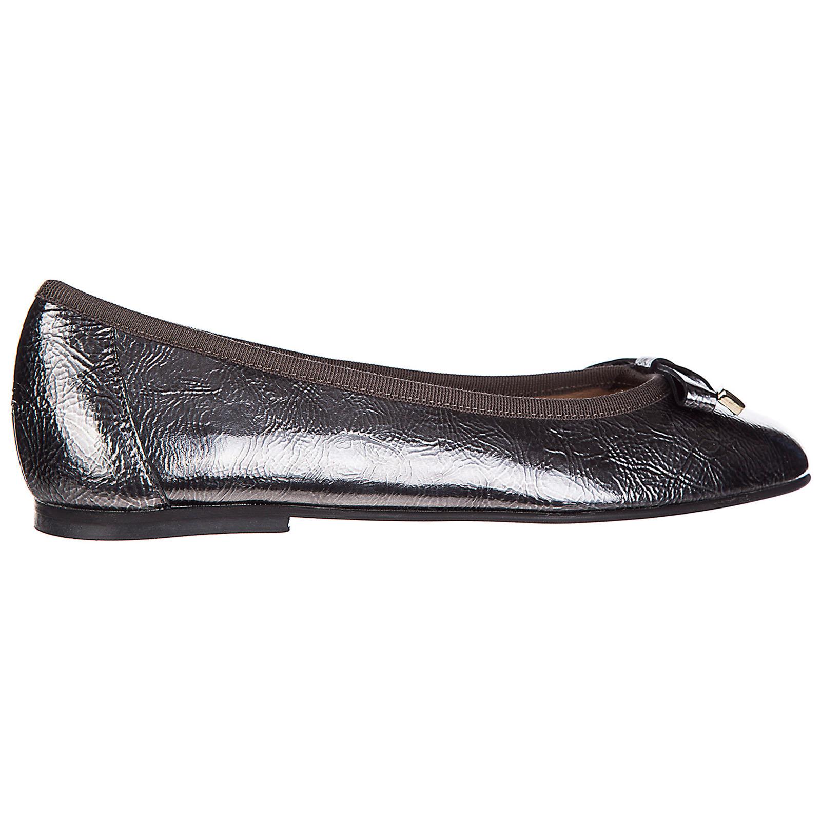 Damen leather ballet flats ballerinas