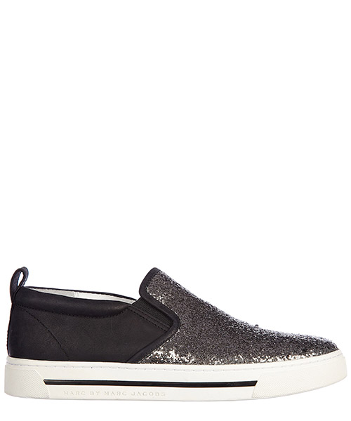 Scarpe slip on Marc by Marc Jacobs M9000056 argento