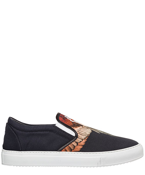 Slip-on Marcelo Burlon Wings CMIA015E198571041088 nero