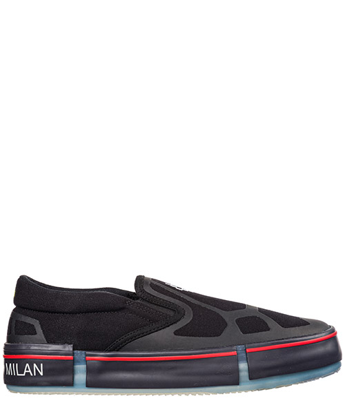 Slip-on Marcelo Burlon Cross CMIA079E19B301001001 black white