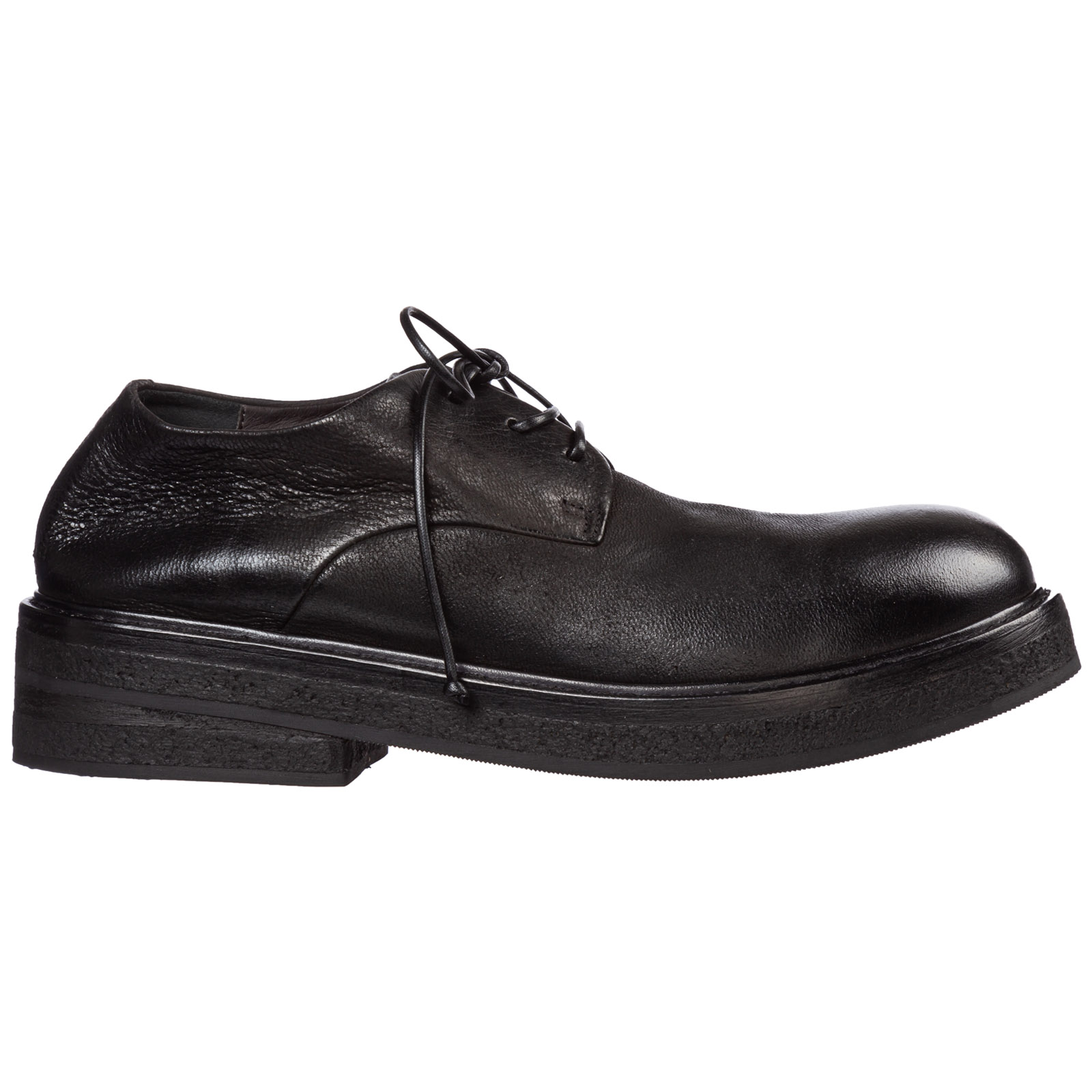 Marsèll Shoes MEN'S CLASSIC LEATHER LACE UP LACED FORMAL SHOES DERBY