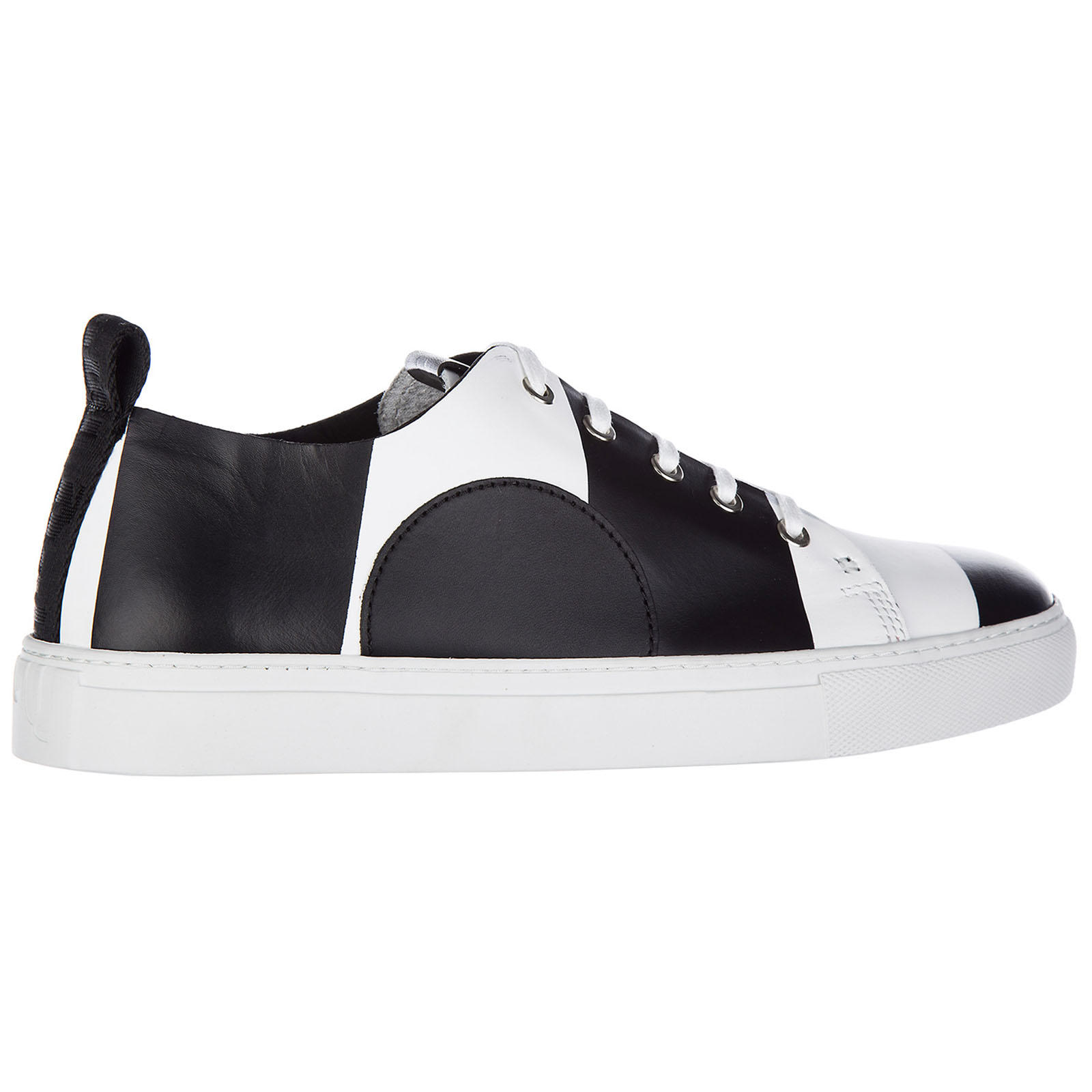 Scarpe sneakers uomo in pelle chris lace up