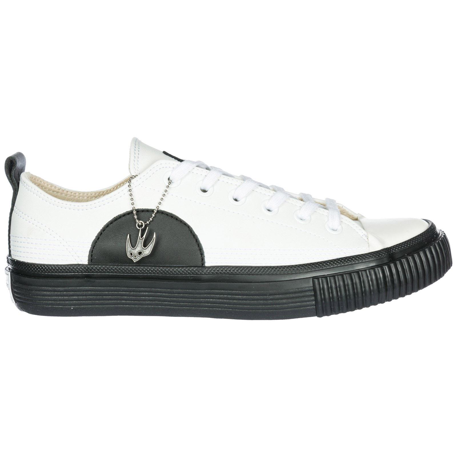 c155a8264670 Basket MCQ Alexander McQueen Swallow Plimsoll 472452R11299024 white ...