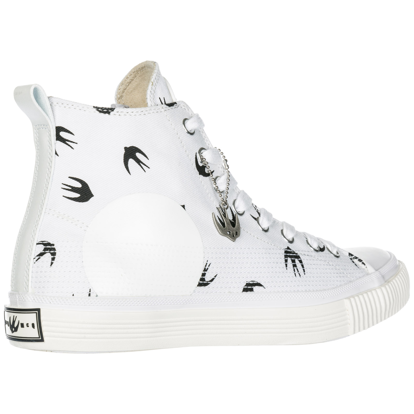 Men's shoes high top trainers sneakers plimsoll mini swallow