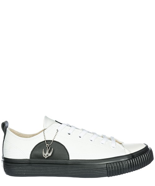 Sneakers MCQ Alexander McQueen Swallow Plimsoll 472452R11299024 white / black