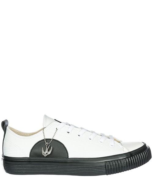Basket MCQ Alexander McQueen Swallow Plimsoll 472452R11299024 white / black
