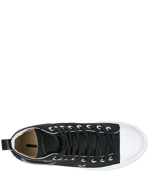 Men's shoes high top trainers sneakers secondary image