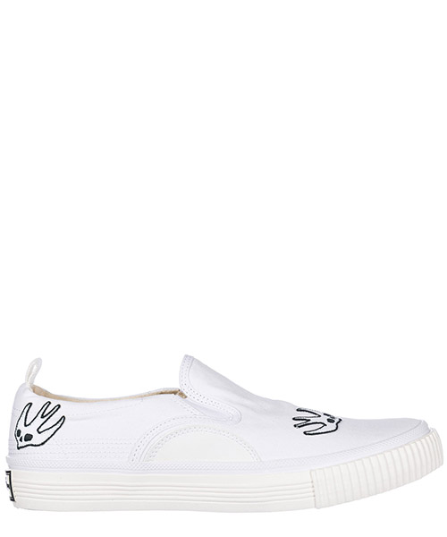 Slip on shoes MCQ Alexander McQueen 494592R11419000 white