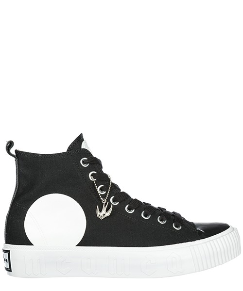 Men's shoes high top trainers sneakers swallow plimsoll