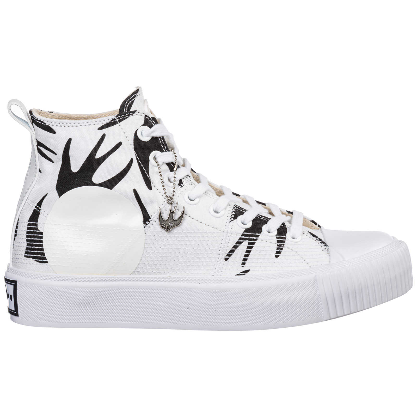 Men's shoes high top trainers sneakers plimsoll platform