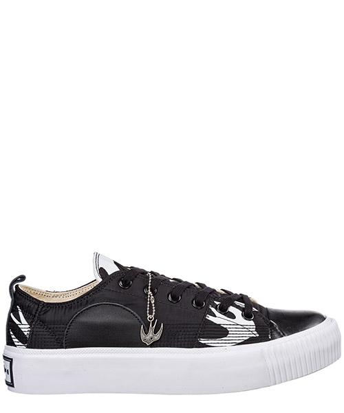 Sneaker MCQ Alexander McQueen Plimsoll Platform 543774R26071006 black - white