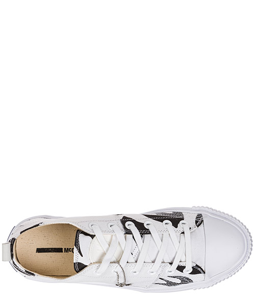 Men's shoes trainers sneakers  plimsoll platform secondary image
