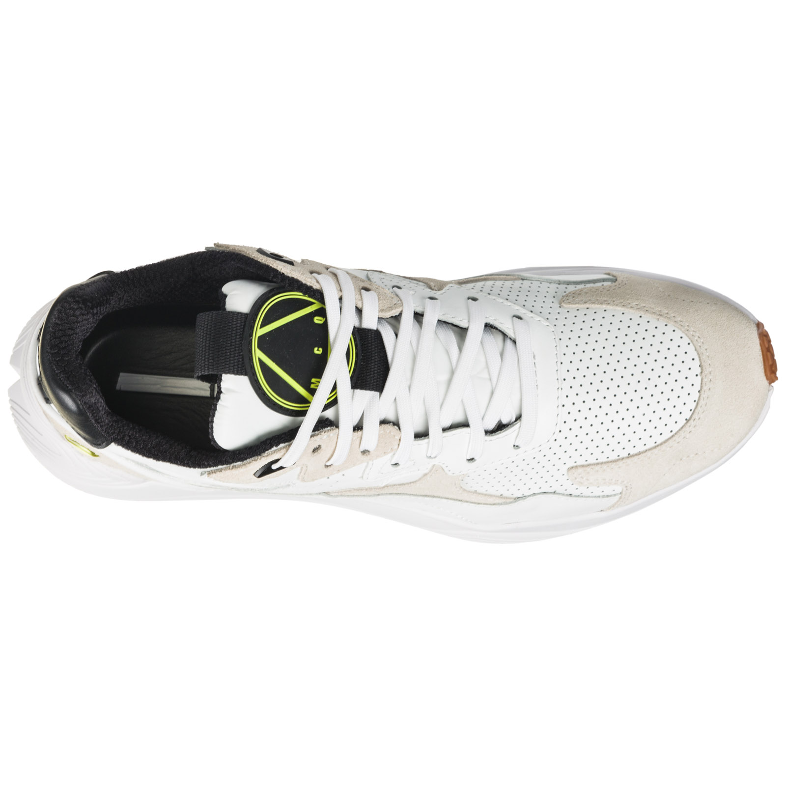 Men's shoes leather trainers sneakers daku
