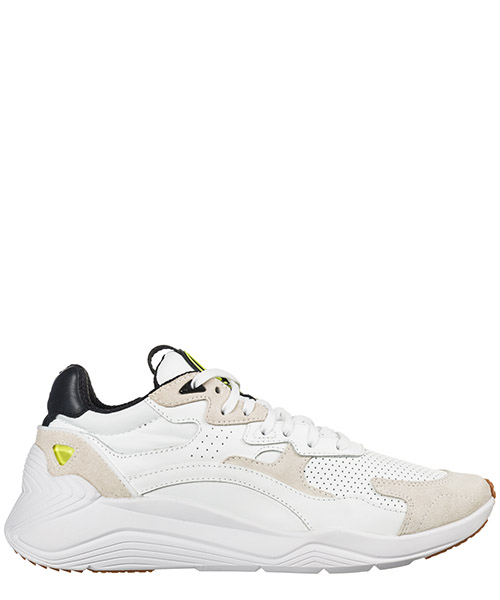 Sneakers MCQ Alexander McQueen Daku 544903R25639018 white black yellow
