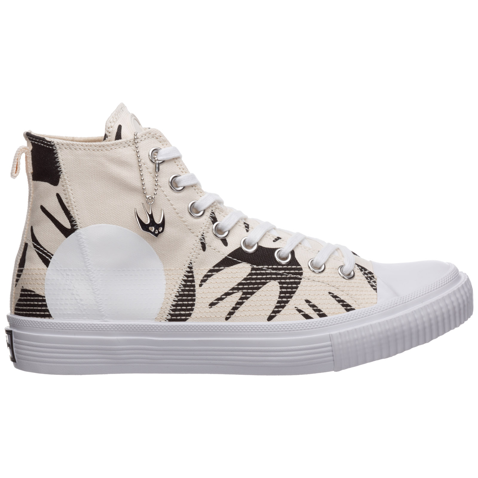 Mcq By Alexander Mcqueen MEN'S SHOES HIGH TOP TRAINERS SNEAKERS SWALLOW CUT UP