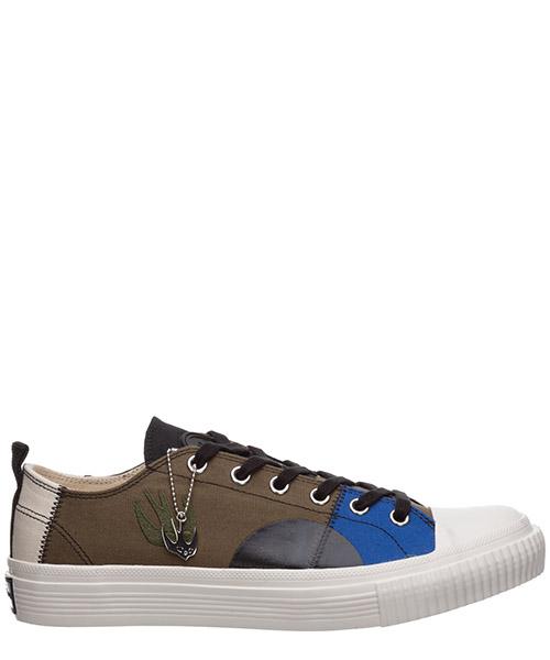 Sneakers MCQ Alexander McQueen swallow capsule 621916R26943076 khaki skate blue mix