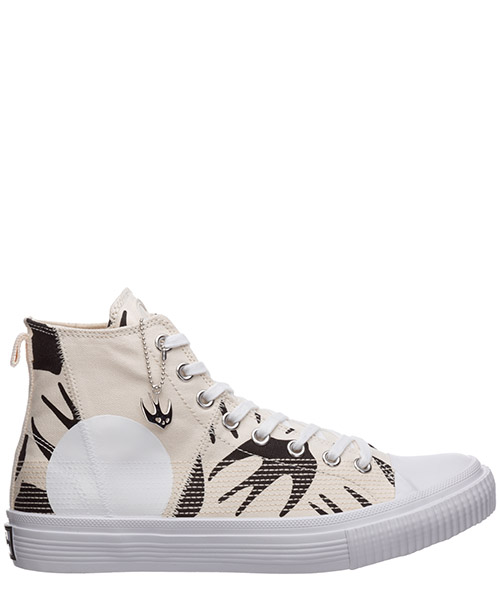 High-top sneakers McQ Swallow Swallow 621913R26969034 oyster / black