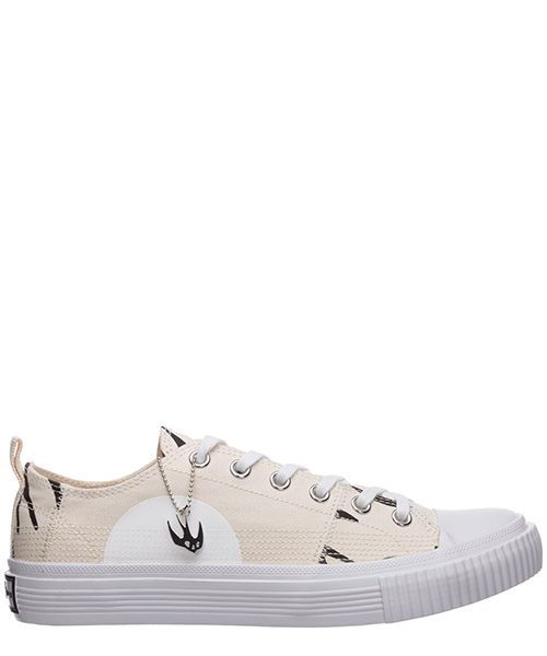 Sneakers McQ Swallow Swallow lo cut up 621915R26969034 oyster / black
