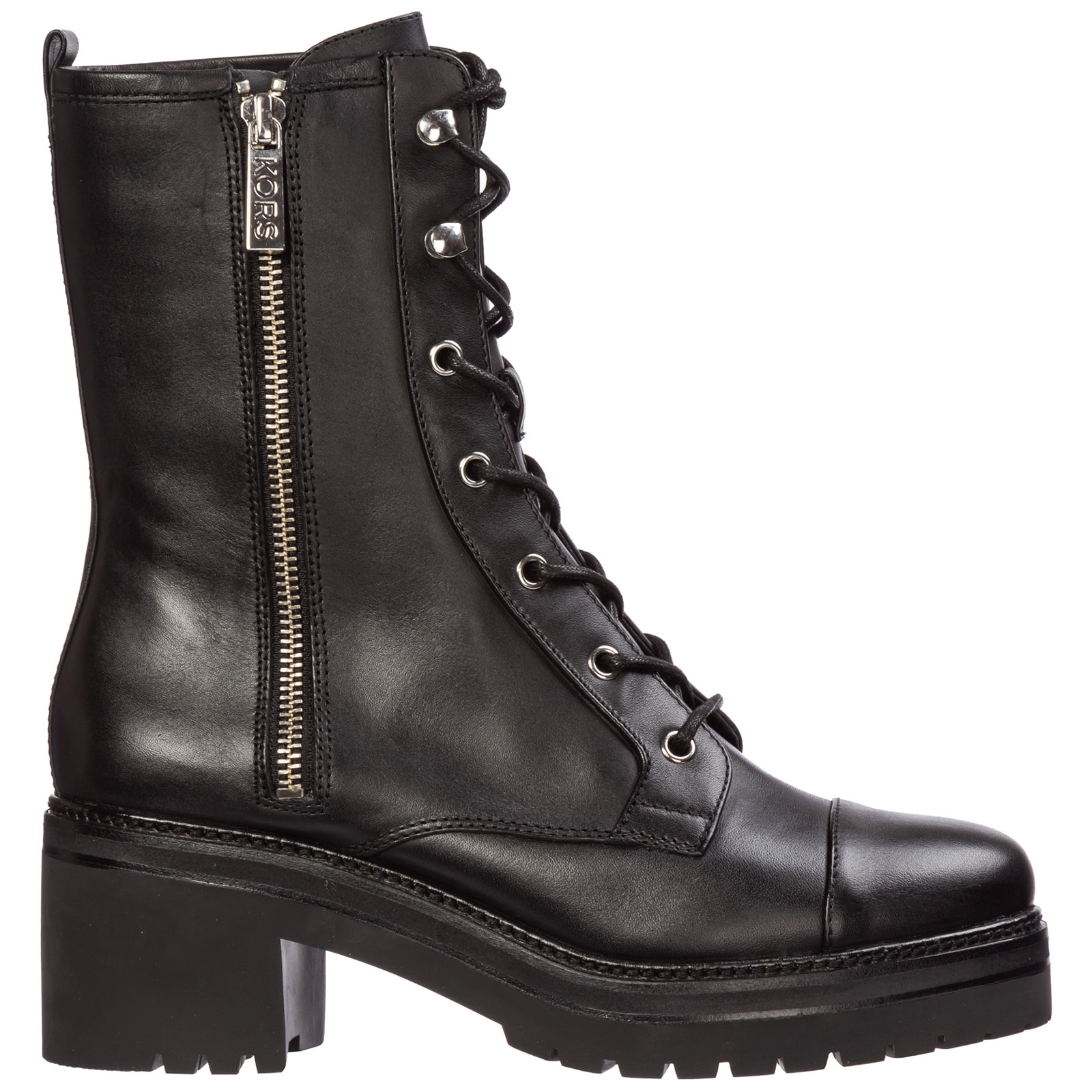 Michael Kors Boots WOMEN'S LEATHER ANKLE BOOTS BOOTIES ANAKA